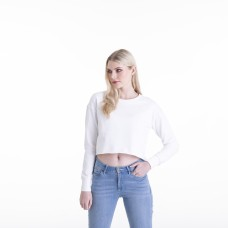 GIRLIE CROPPED SWEAT80%C20%P