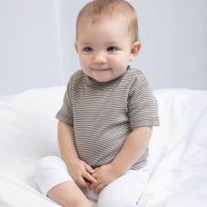 BABY STRIPED T 100%C