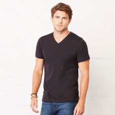 JERSEY V-NECK TEE 100% C