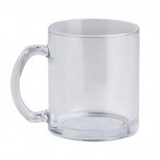 GLASS MUG - TAZZA IN VETRO TRASPARENTE PC360