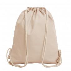 DRAWSTRING BAG ORGANIC, 100% C