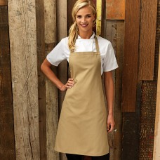 COTTON BIB APRON 100%C