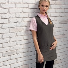 WRAP AROUNT TUNIC APRON100%P
