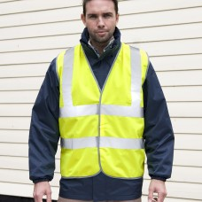 SAFETY HIGH VIZ VEST 100%P