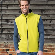 PRINTABLE SOFT SHELL VEST100%P