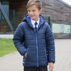 JUNIOR PADDED JACKET 100%P