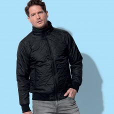 ACTIVE QUILTED BLOUSON, 100%P